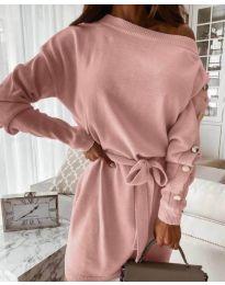Obleka - koda 4243 - 2 - puder