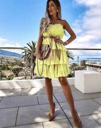 Obleka - koda 3065 - rumena