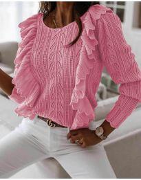 Pulover - koda 9087 - roza