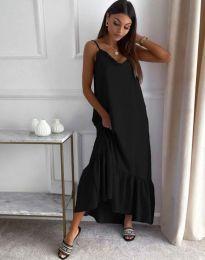 Obleka - koda 4671 - črna