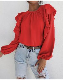 Bluza - koda 1603 - 1 - rdeča
