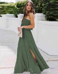 Obleka - koda 8871 - olivna