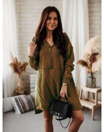 Obleka - koda 6113 rjav