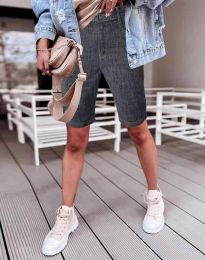 Kratke hlače - koda 0220 - 1 - grafitna