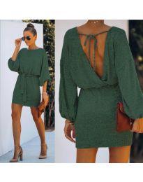 Obleka - koda 940 - olivna