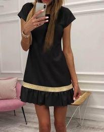 Obleka - koda 2532 - 1 - črna