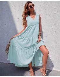Obleka - koda 8149 - bledo modra