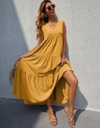 Obleka - koda 8149 - gorčica