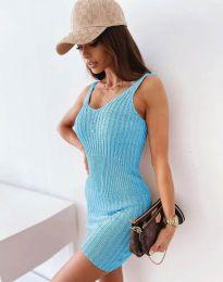 Obleka - koda 10088 - svetlo modra