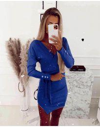 Obleka - koda 2077 - temno modra