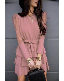 Obleka - koda 8384 - roza