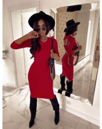 Obleka - koda 5169 - 1 - rdeča