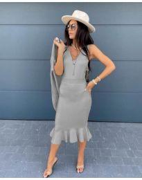 Obleka - koda 1030 - siva