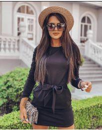Obleka - koda 2529 - črna