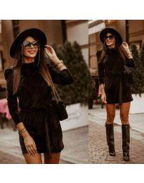 Obleka - koda 0722 - črna