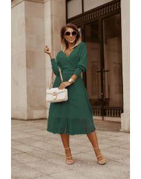 Obleka - koda 9994 - olivna