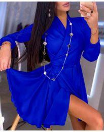 Obleka - koda 2428 - temno modra