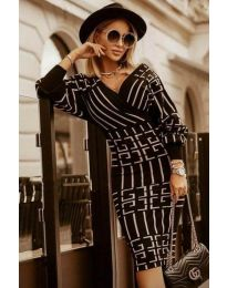 Obleka - koda 4441 - 2 - črna