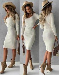 Obleka - koda 4845 - bela