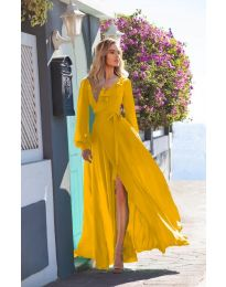 Obleka - koda 8477 - gorčica