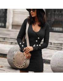 Obleka - koda 4516 - grafitna