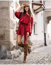 Obleka - koda 324 - rdeča