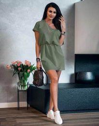 Obleka - koda 3214 - olivno zelena