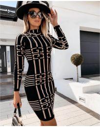 Obleka - koda 0258 - črna