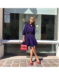 Obleka - koda 960 - temno vijolična