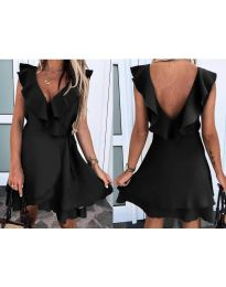 Obleka - koda 7799 - črna