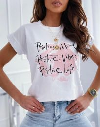 Majica - koda 11670 - bela