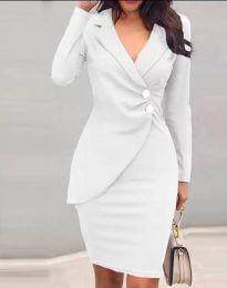 Obleka - koda 2431 - bela