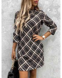 Obleka - koda 9187 - 1 - večbarvna