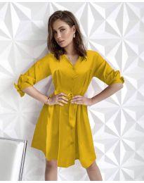 Obleka - koda 9028 - gorčica