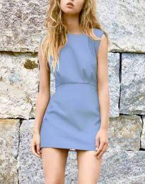 Obleka - koda 1233 - svetlo modra