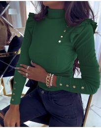 Bluza - koda 6566 - temno zelena