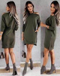 Obleka - koda 8858 - olivno zelena