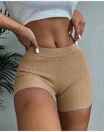 Kratke hlače - koda 10155 - кapučino