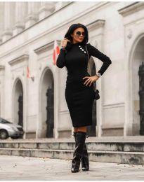 Obleka - koda 7099 - 1 - črna