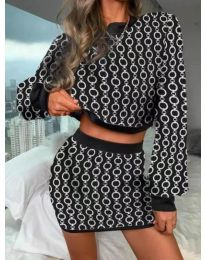 Obleka - koda 9555 - 7 - večbarvna