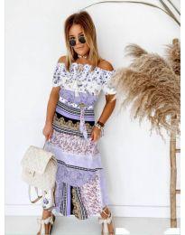 Obleka - koda 5061 - vijolična