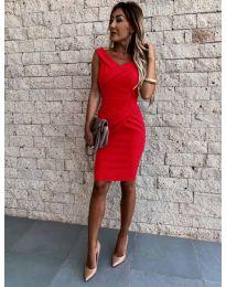 Obleka - koda 1104 - rdeča