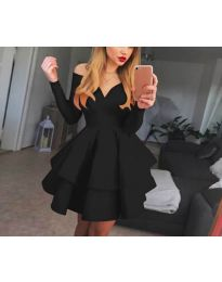 Obleka - koda 228 - črna