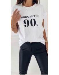 Majica - koda 947 - bela