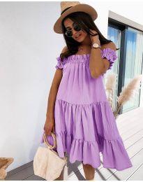Obleka - koda 805 - vijolična