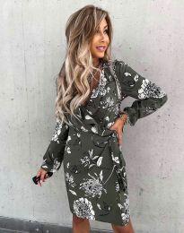 Obleka - koda 2937 - večbarvna