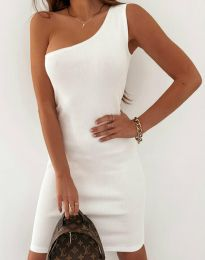 Obleka - koda 11699 - bela