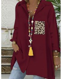 Bluza - koda 5641 - bordo