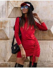 Obleka - koda 9545 - rdeča