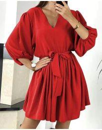 Obleka - koda 6210 - rdeča